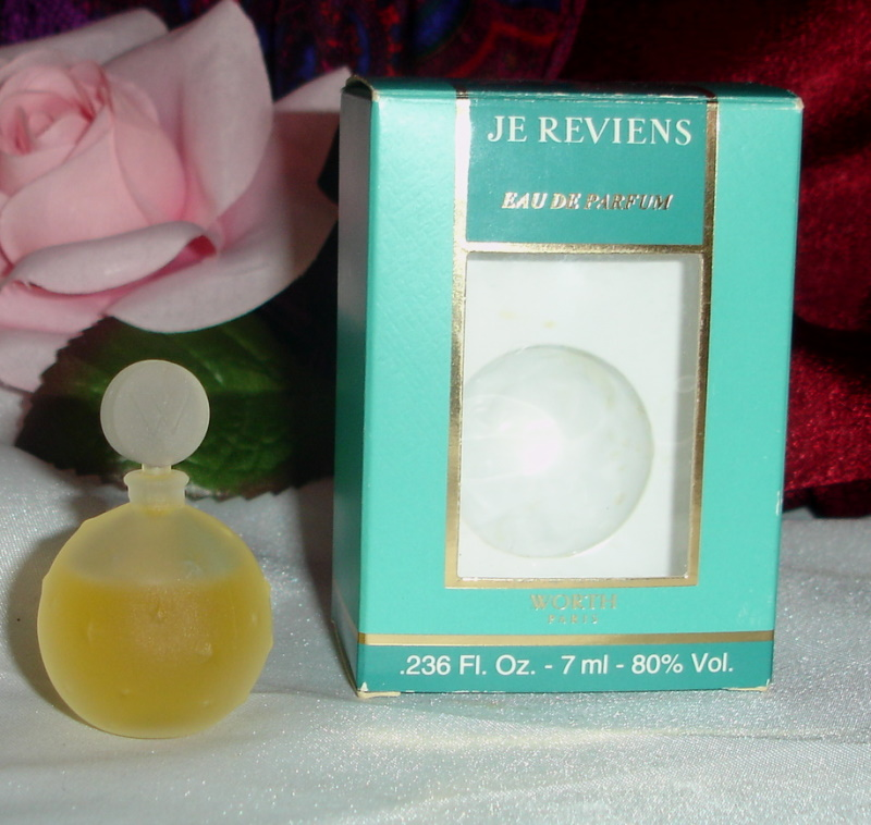 je collectionne parfum miniature
